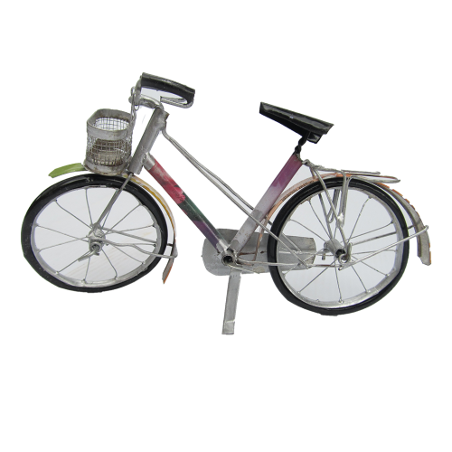 Recycled Metal - Bicycle (L)