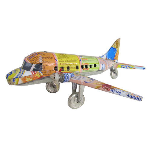 Recycled Metal - Aeroplane (L)