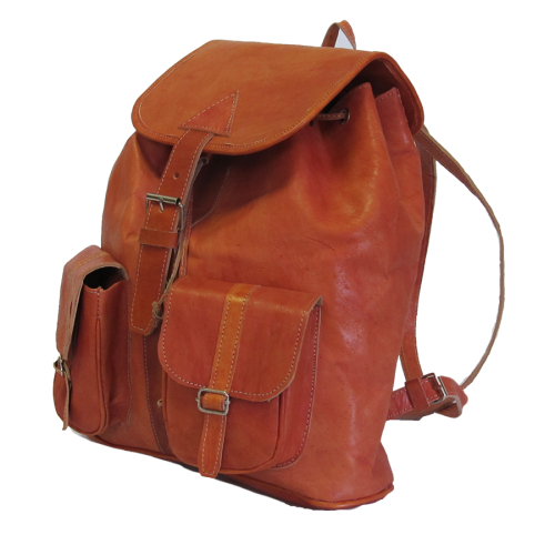 Leather - Back pack (L)