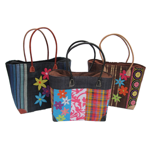 Mad Bags - Flower Multi Embroided (M,L)
